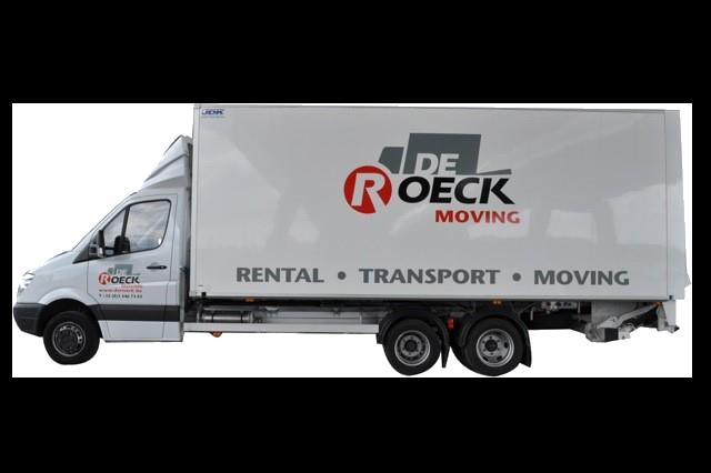 Vrachtwagen 29m³ met laadklep huren in Antwerpen