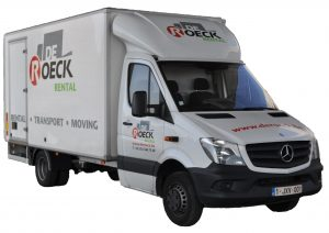 Vrachtwagen 21 m³ met laadklep huren in Antwerpen