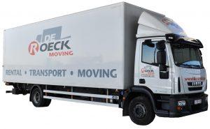 Vrachtwagen 45 m³ huren in Antwerpen